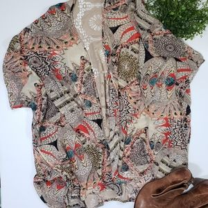 Cato Boho Tribal Kimono